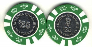 Arizona Charlies Casino $25 (1988) Chip - Spinettis Gaming - 1