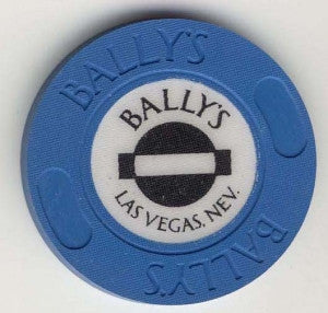 Ballys Casino roulette ( blue1991) Chip - Spinettis Gaming - 1