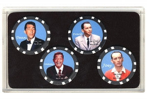 Rat Pack Collector Set 4 Chips