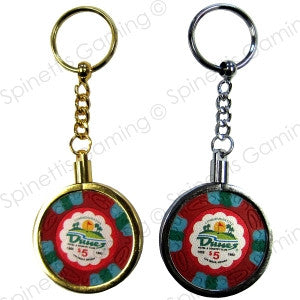 Key Chain For Casino Poker Chips - Spinettis Gaming - 1