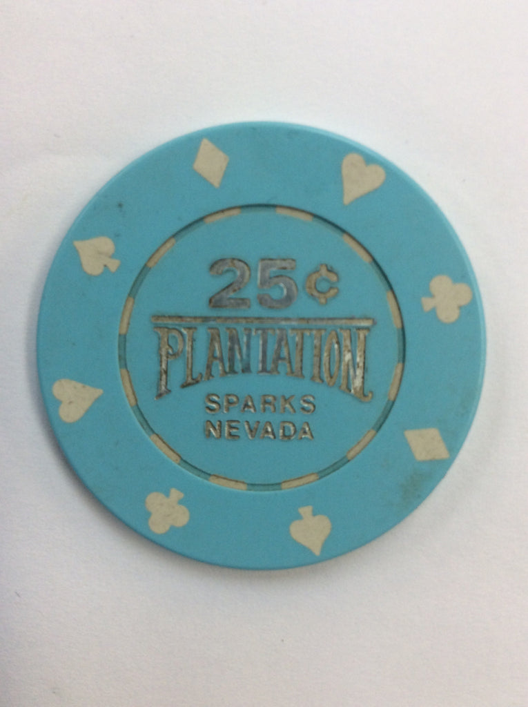 Plantation 25 (blue) chip