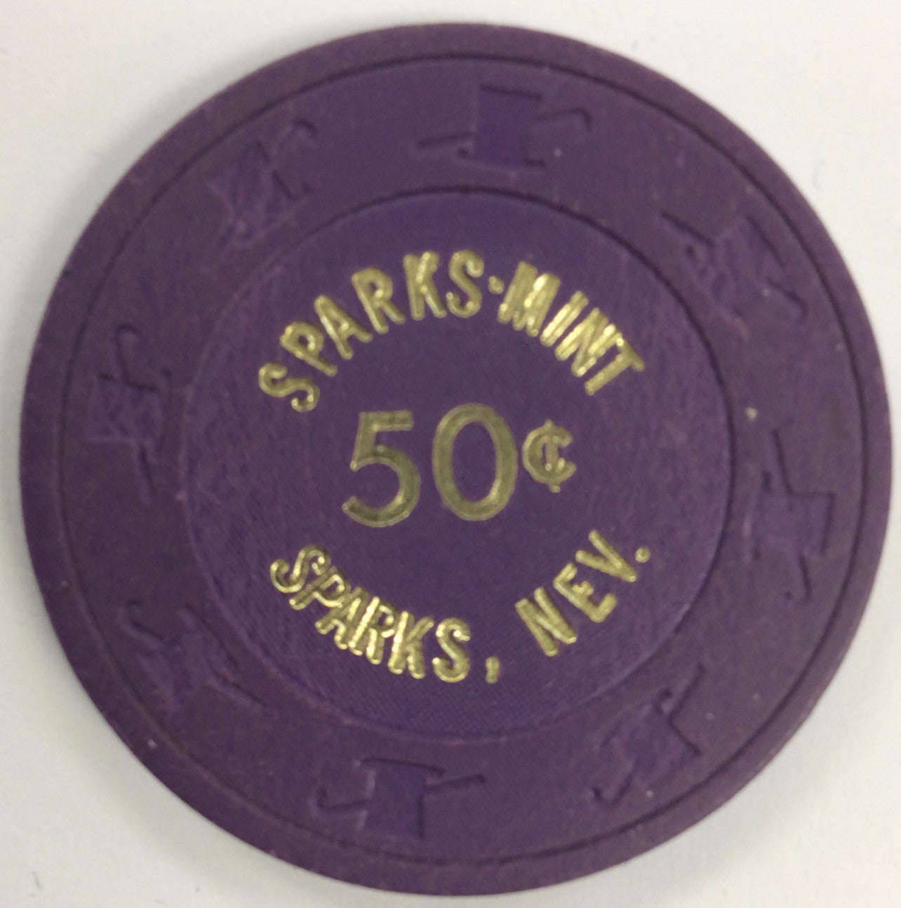 Sparks Mint 50cent (purple) chip - Spinettis Gaming