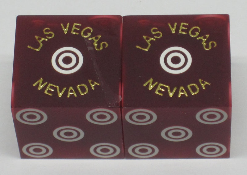 Las Vegas Club Casino Used Dice Matching Number Las Vegas Nevada - Spinettis Gaming - 3