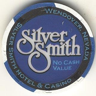 Silver Smith Casino Wendover NV NCV Blue Chip 1990s