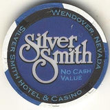 Silver Smith (No Cash Value) (blue) chip - Spinettis Gaming - 1