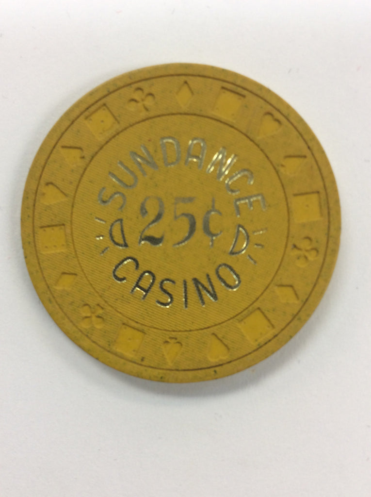Sundance Casino 25 (yellow) chip