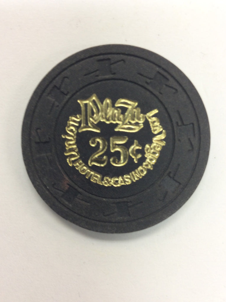 Union Plaza 25cent (black) chip