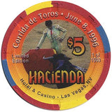 Hacienda $5 (Corrida de Toros ) chip - Spinettis Gaming - 2