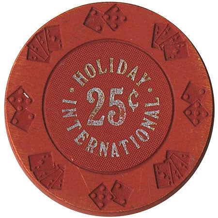 Holiday International 25 (red) chip