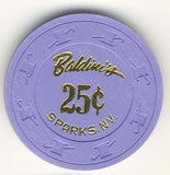 Baldini's Casino 25 (purple 1988) Chip - Spinettis Gaming - 2