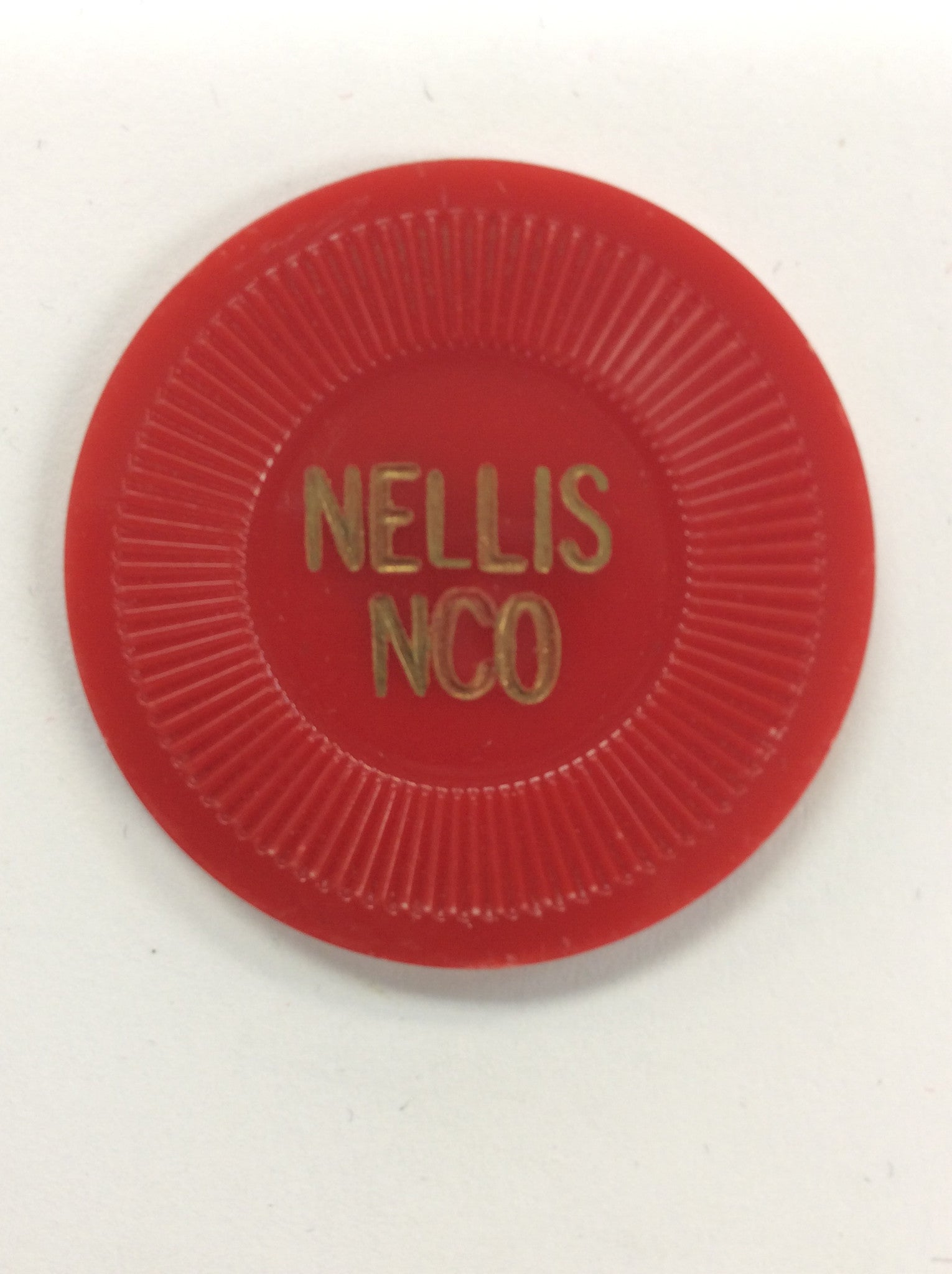 Nellis NCO 50 (red) chip - Spinettis Gaming