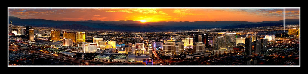 Las Vegas Poster #593 - Helicopter View from the Rio Casino