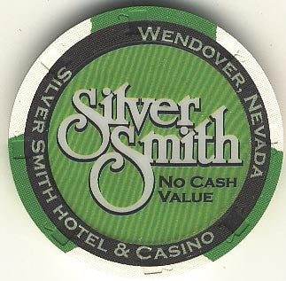 Silver Smith (No Cash Value) (green) chip