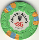 Caesars Palace $25 (green1989) Chip - Spinettis Gaming - 2