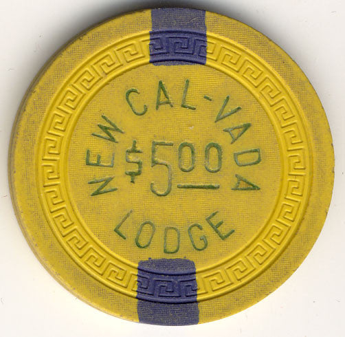 Cal Vada,New $5 yellow (2-blue inserts 1951) - Spinettis Gaming - 2