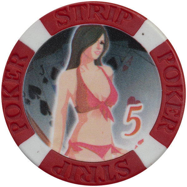 Brothel Bikini Ladies $5 Chip - Spinettis Gaming