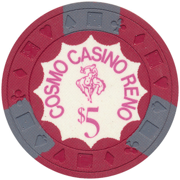 Cosmo Casino Reno $5 Red Chip