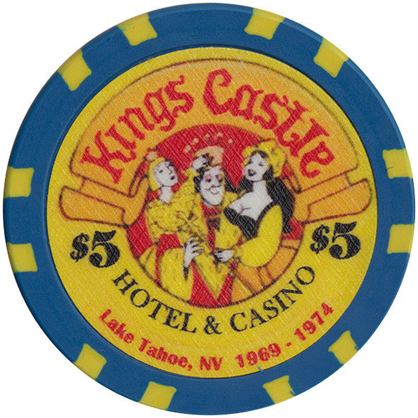 Kings Castle $5 Chip - Spinettis Gaming - 1