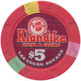 Klondike Hotel & Casino Las Vegas $5 chip 2002 - Spinettis Gaming - 1