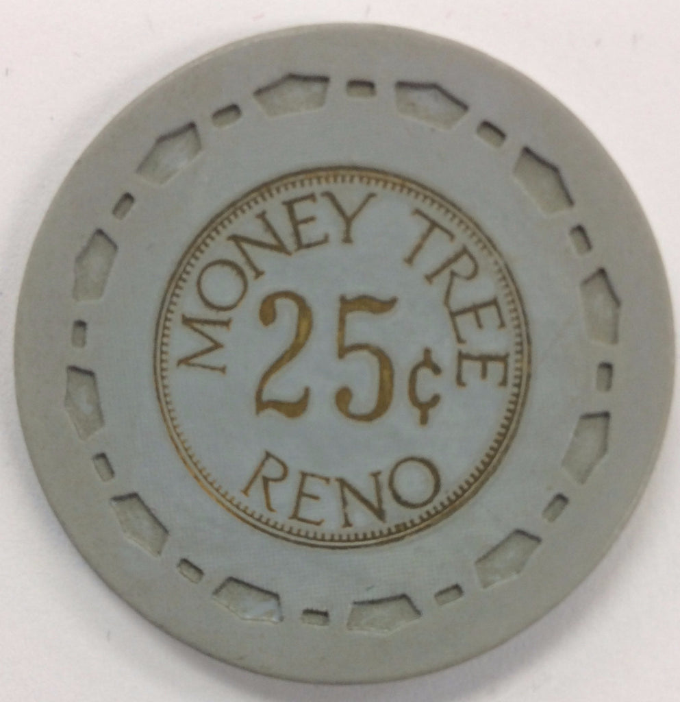 Money Tree Reno 25cent chip