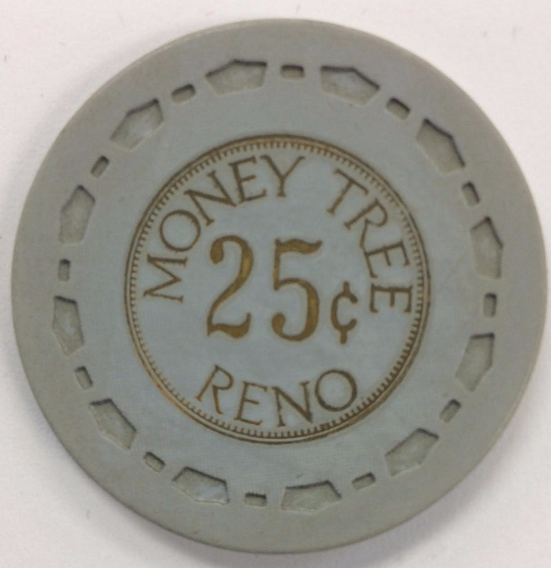Money Tree Reno 25cent chip - Spinettis Gaming