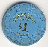 HorseShoe Club $1(blue) chip - Spinettis Gaming - 2