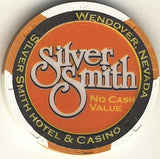 Silver Smith (No Cash Value) (orange) chip - Spinettis Gaming - 2