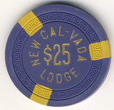 Cal Vada,New $25 (navy 1951) Chip - Spinettis Gaming - 2