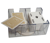 6 Deck Revolving Rotating Canasta Playing Card Tray - Spinettis Gaming - 2