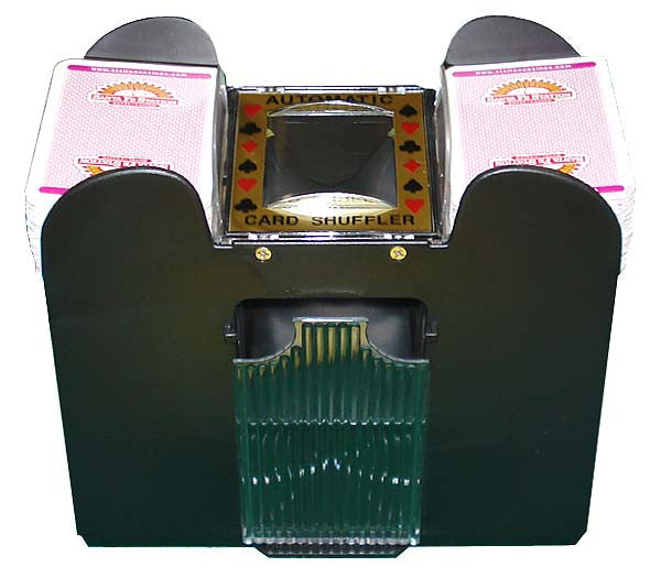 SHUFFLER Automatic Playing Card Shuffler 1- 6 Decks