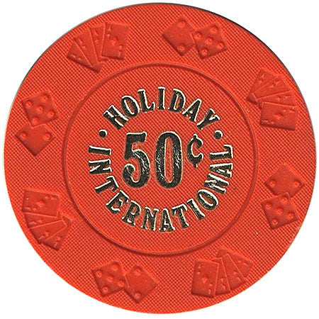 Holiday International 50cent chip