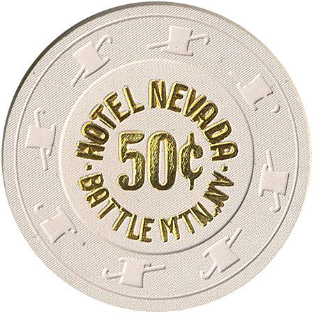 Hotel Nevada 50cent (beige) chip