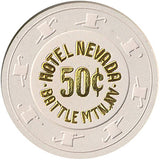 Hotel Nevada 50cent (beige) chip - Spinettis Gaming