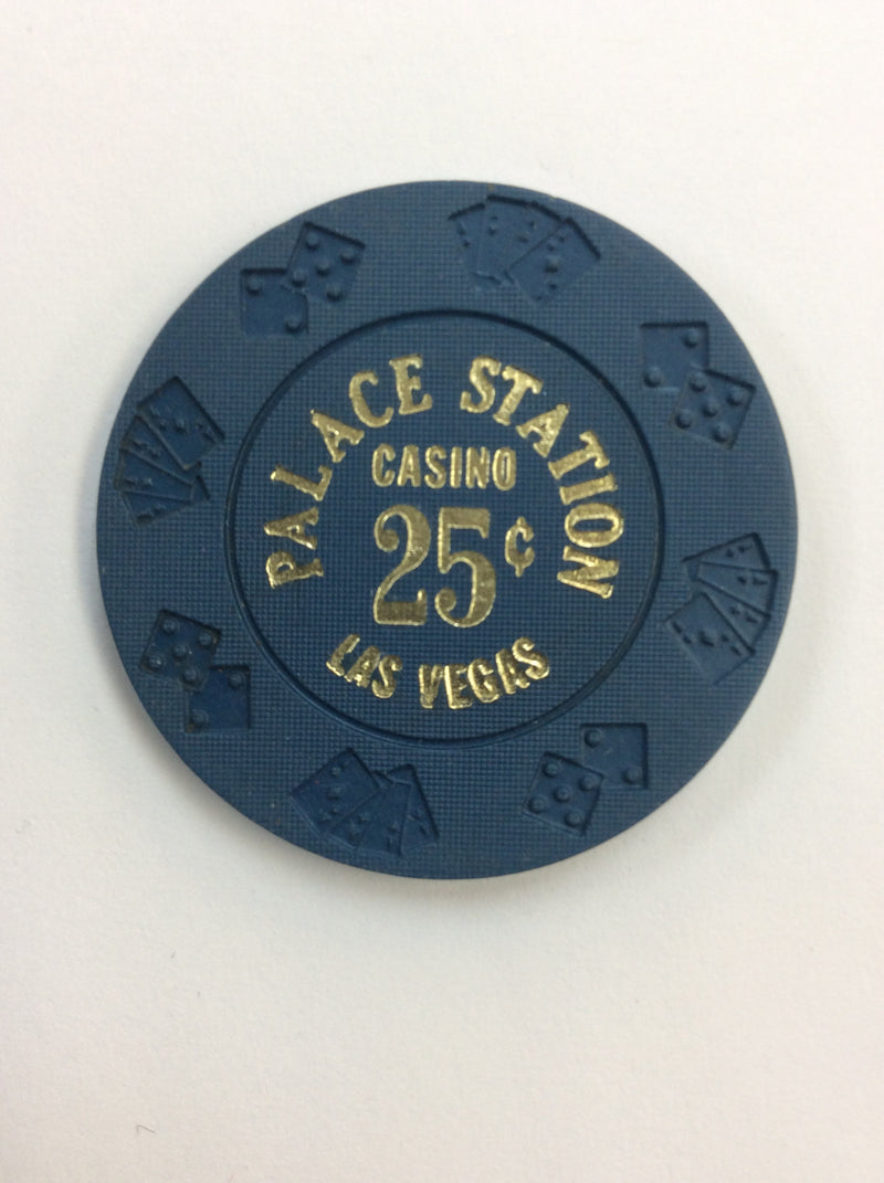 Palace Station 25 (blue) chip - Spinettis Gaming