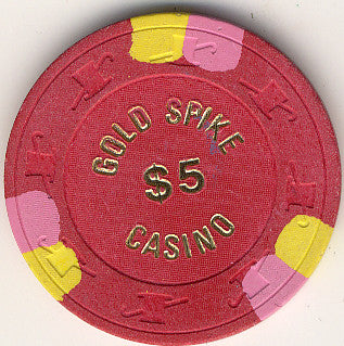Gold Spike Casino $5 chip