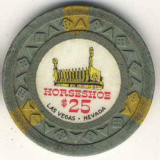 HorseShoe Club $25 (lt. green) chip