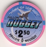 Nugget $2.50 (pink) chip - Spinettis Gaming - 1