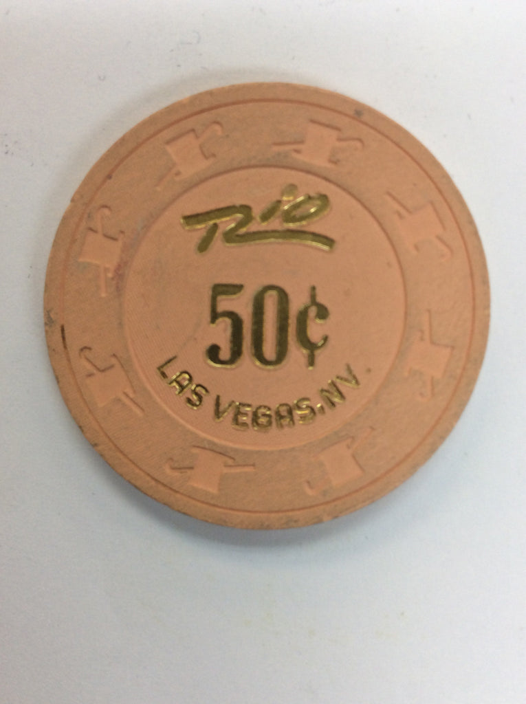 Rio Casino Las Vegas NV 50 Cent Chip 1994