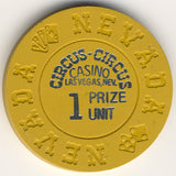 Circus Circus 1 prize unit (mustard 1972) Chip - Spinettis Gaming - 2