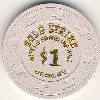 Gold Strike $1 chip - Spinettis Gaming - 1