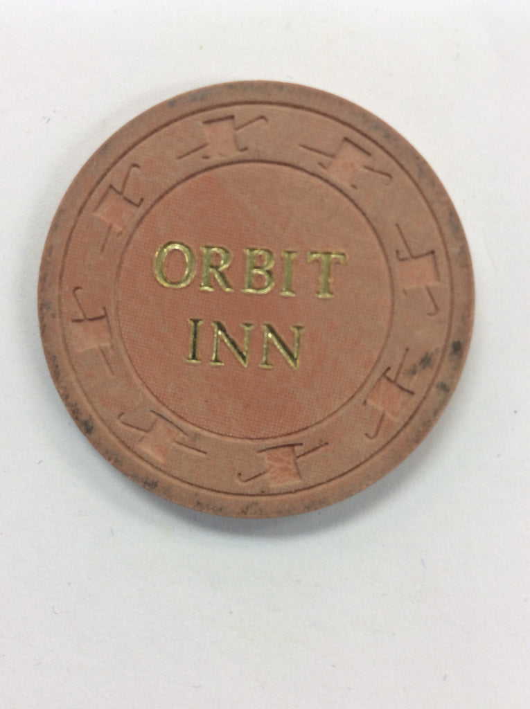 Orbit Inn 10cent (orange) chip