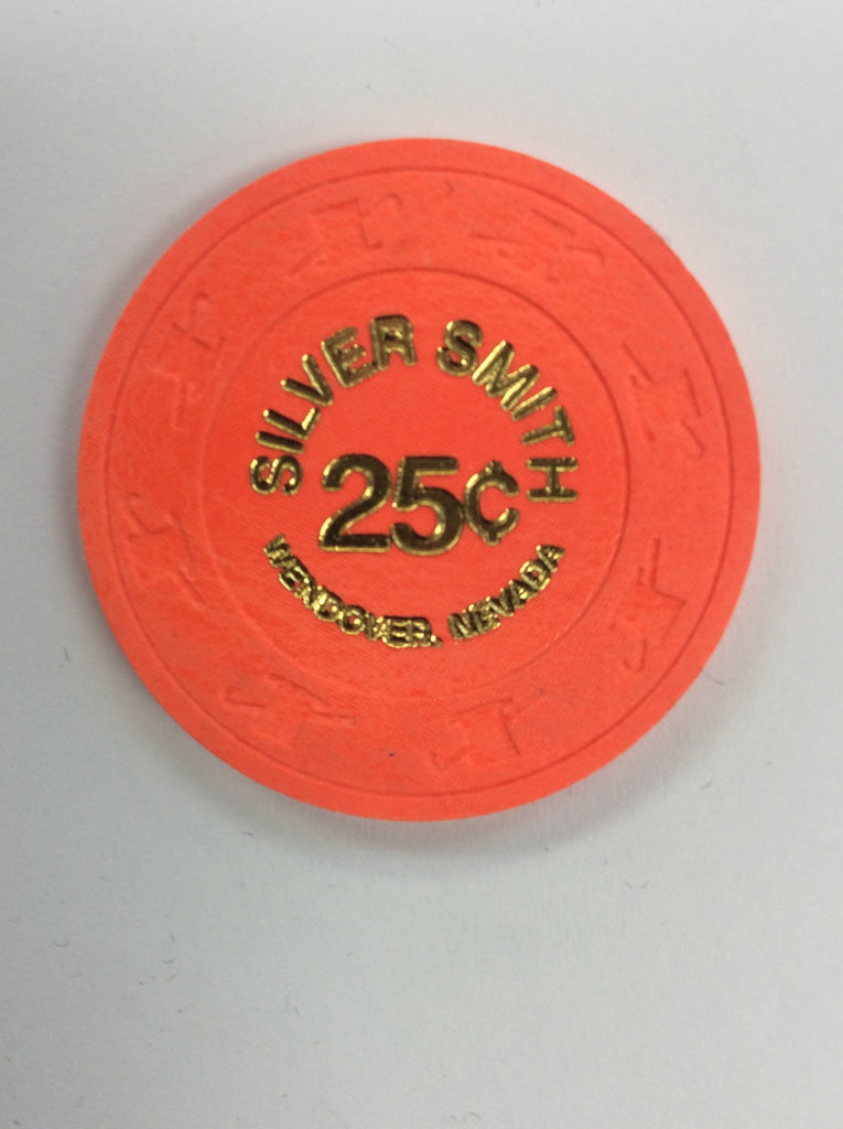 Silver Smith 25cent (orange) chip