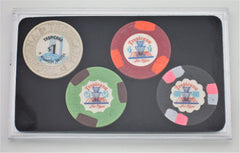 Tropicana Las Vegas Casino Collector 4 Chips Set