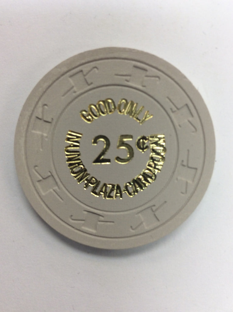 Union Plaza Casino Las Vegas NV 25 Cent Chip 1980s