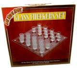 Shot Glass Checkers Set - Spinettis Gaming