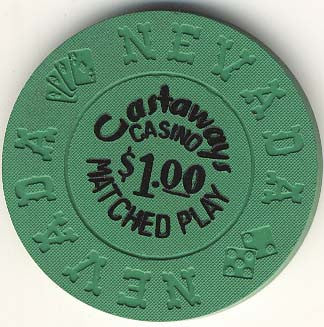 Castaways $1 (green) chip - Spinettis Gaming - 1