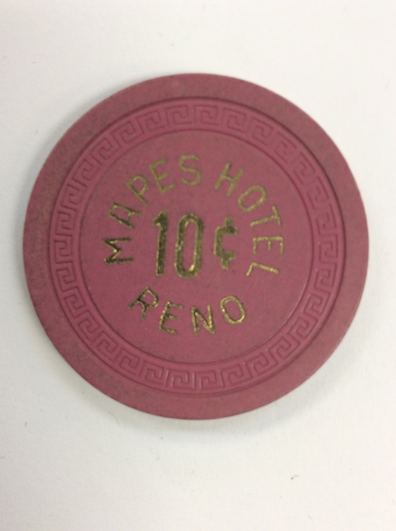 Mapes Hotel 10cent (purple) chip - Spinettis Gaming