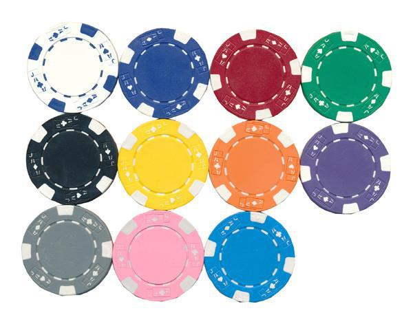 Ace/Jack Poker Chip - Spinettis Gaming - 1