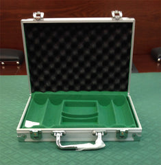 200 Aluminum Chip Case with Clear Acrylic Lid - Spinettis Gaming - 1