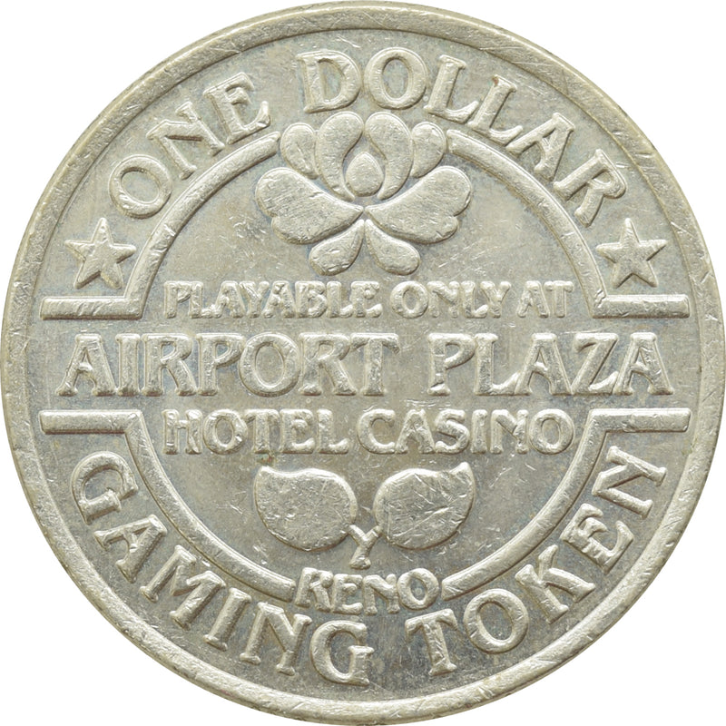 Airport Plaza Hotel (Best Western) Reno NV $1 Token 1984